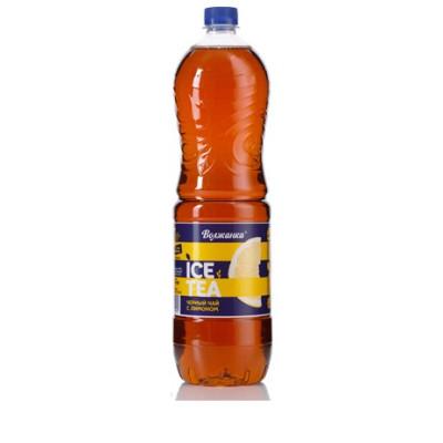 Купить Холодный черный чай с лимоном 1,5л x 6шт ПЭТ