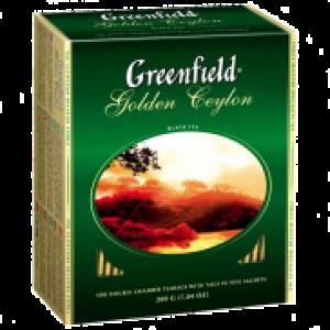 Чай Гринфилд черный 100 пак