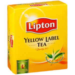 Чай Lipton Yellow Label Tea 100 пак.
