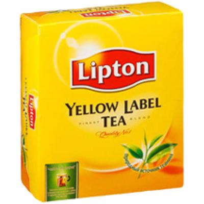Купить Чай Lipton Yellow Label Tea 100 пак.